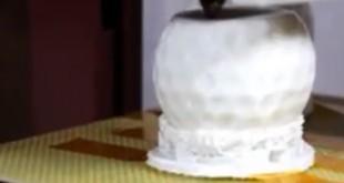 Balle de golf imprimée en 3D