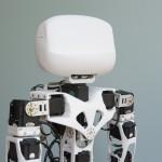 La tête de Poppy le robot