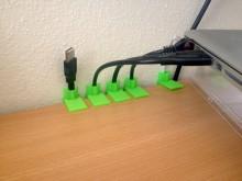 Passe câbles imprimé en 3D