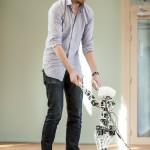 Poppy le robot apprend à marcher