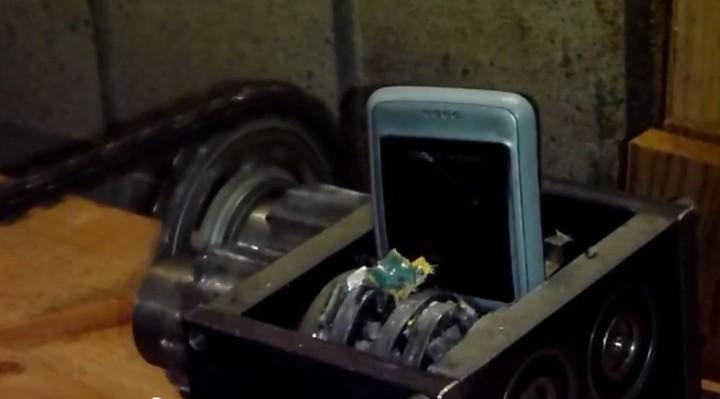 Recyclage d'un téléphone pour imprimer en 3D