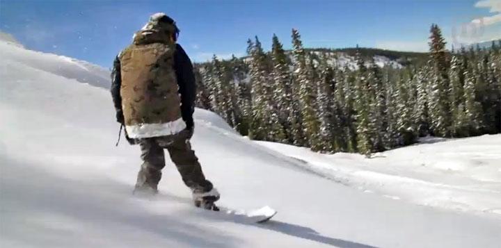 snowboard imprimante 3D