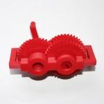 Système d'engrenages imprimé en 3D