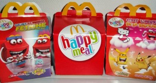 boites happy meal mcdo