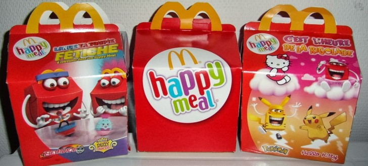 boites happy meal mcdo