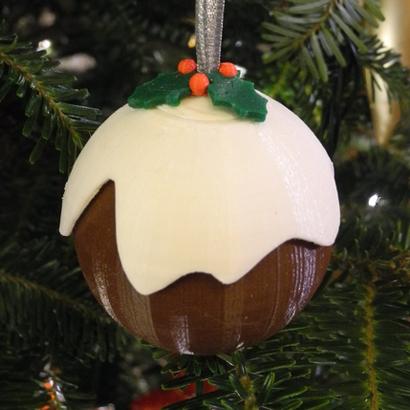 Boule de Noël pugging
