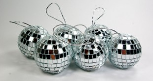 Boule à facette de Noël