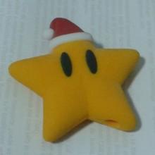 Etoile de Noël gamer geek Mario