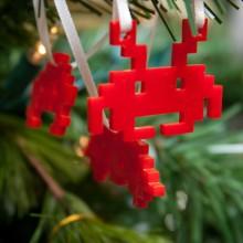 Décoration Noël Space Invader