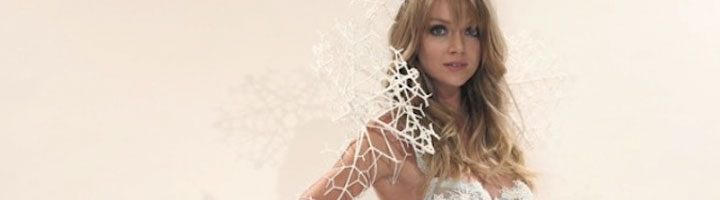 mannequin Victoria Secret robe 3D