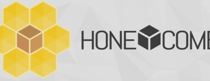 logo honeycomb 3d