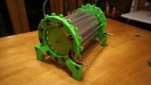 Moteur électrostatique imprimé en 3D