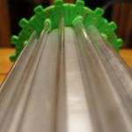 Moteur électrostatique imprimé en 3D tube alu