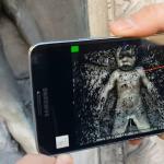 Reconstruction d'une statuette en 3D avec un smartphone