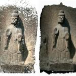 Statue scanné en 3D avec un smartphone