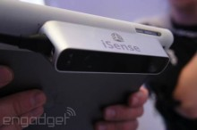 3d systems isense ipad 3d scanner