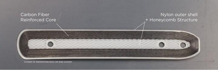 Aileron imprimé en 3D