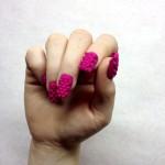 bijoux d'ongle rose imprimé en 3Dl-impression-3d
