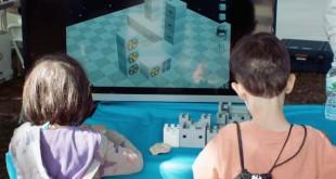 enfants qui modélisent en 3D