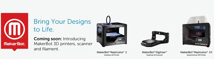 dell makerbot replicator digitizer