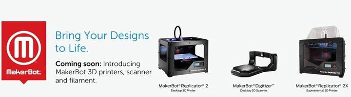 dell makerbot replicator digitizer