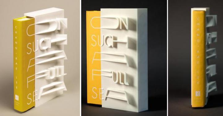 couverture de livre imprimée en 3D