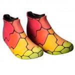 chaussures multi-couleurs imprimées avec la stratasys objet500 connex3