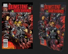 Brimstone and The Borderhounds 3D cover