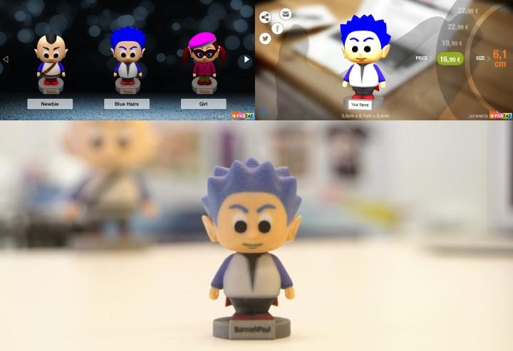figurine graal online imprimee en 3d