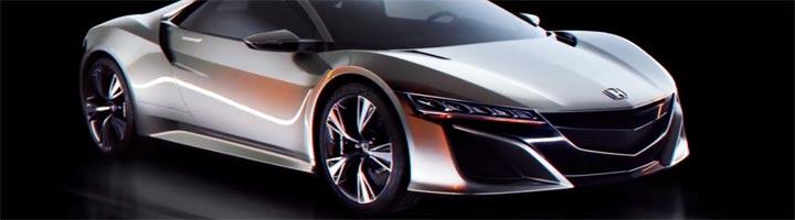 dessiner voiture Honda en 3D