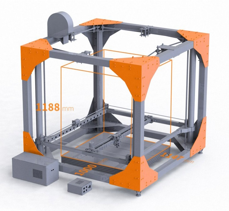 pr sentation des imprimantes 3d micro 3d et big rep one. Black Bedroom Furniture Sets. Home Design Ideas