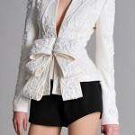 3Dprinted fashion photo défilé mode imprimante 3D veste jacket