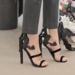 3Dprinted fashion photo défilé mode imprimante 3D chaussures talon