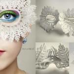 3Dprinted fashion photo défilé mode imprimante 3D masque loup