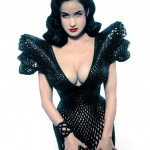 3Dprinted fashion photo défilé mode imprimante 3D Dita Von Teese nue