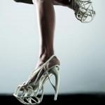 3Dprinted fashion photo défilé mode imprimante 3D chaussure talon