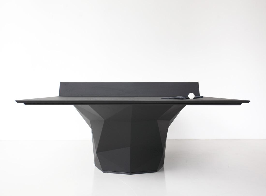 Deceptor la table de ping pong et ses accessoires for 3d table design