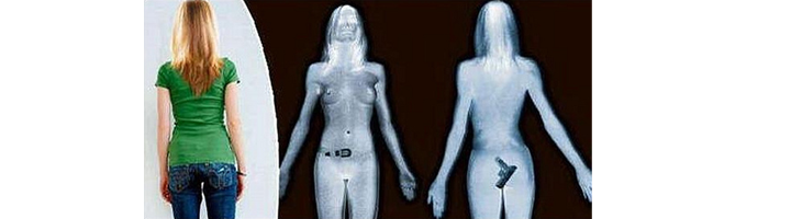 body scanner hidden gun