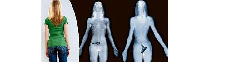 body scanner hidden gun