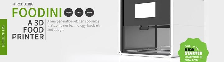 foodini 3d printer kickstarter