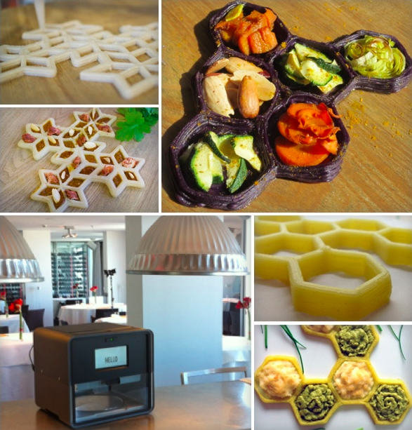 foodini l 39 imprimante 3d qui cuisine seule d barque sur kickstarter. Black Bedroom Furniture Sets. Home Design Ideas