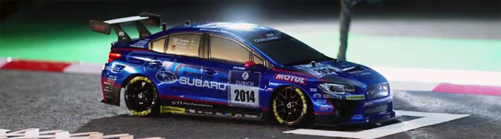 video Subaru Impreza imprimee en 3D