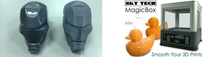 MagicBox finition impression 3d plastique acetone
