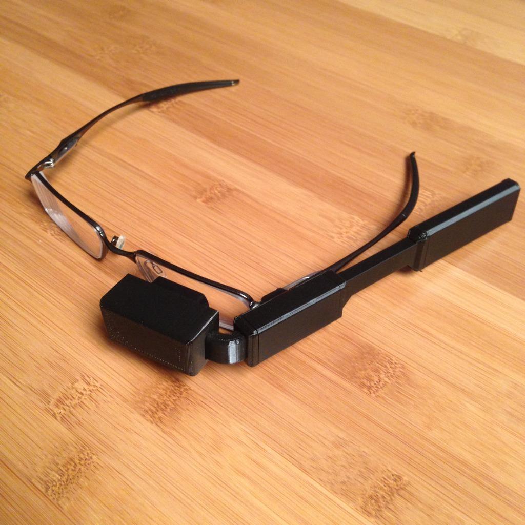 Google Glass Diy Imprimees En 3d Les Imprimantes 3d Fr