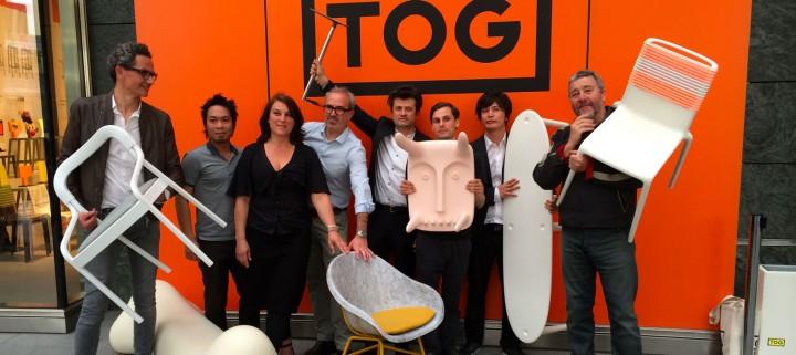 L'équipe des créatifs de TOG