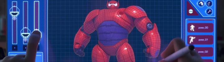 big hero 6 3d printer