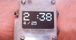 oswatch smartwatch open source imprimée en 3d