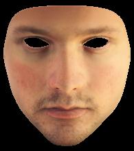 urme masque visage imprimé en 3D
