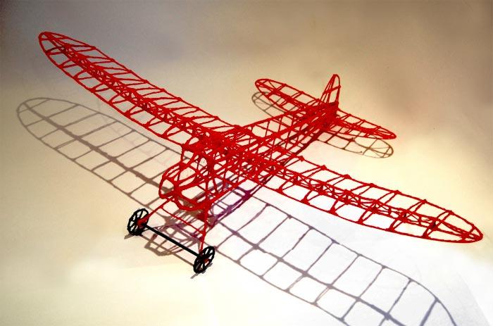 Un Avion Qui Vole Dessin Avec Stylo 3D Les