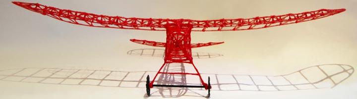 3doodler imprimer avion radiocommande